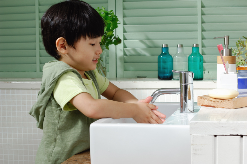 How to get kids to wash their hands