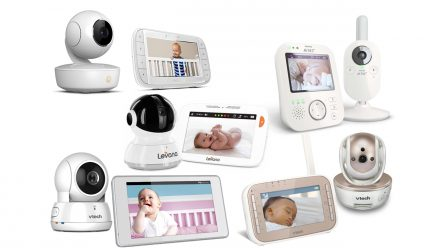 Best video baby monitors including models from Philips Avent, Levana, Motorola and VTech