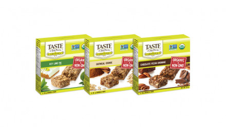 Boxes of Taste of Nature Granola Bars
