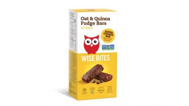 Box of Wise Bites Oat and Quinoa bars